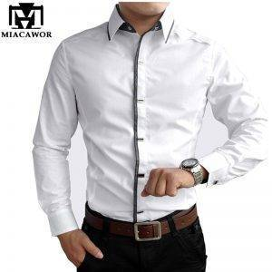 100% Cotton Dress Shirts Spring Shirt