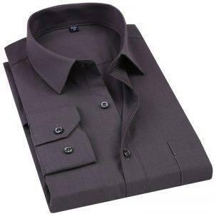 Men's Dress Shirt Business Shirt