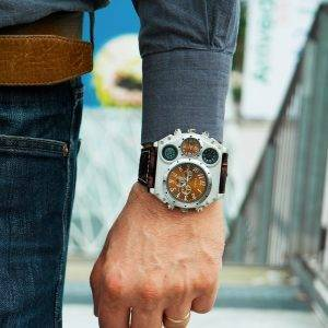 Large Dial Men Watches Luxury Watch