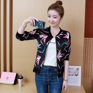 Spring Fashion Bomber Jacket