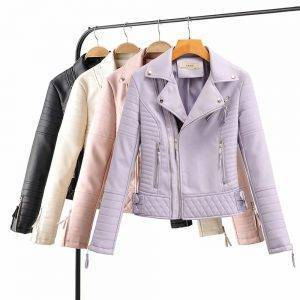 Motorcycle Faux Leather Jackets