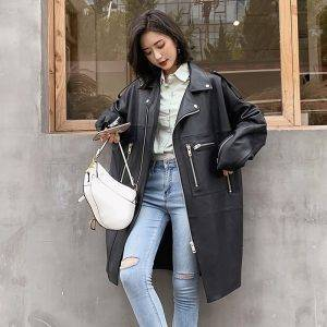 Spring Women's Leather Jacket