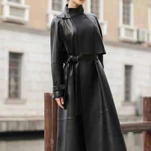 Long Sleeve Leather Jackets