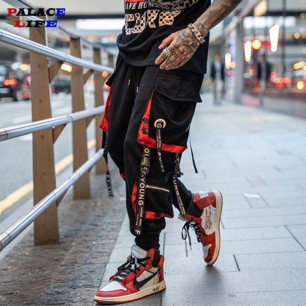 Sport Hip Hop Joggers Men Pants